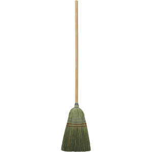 2 Wire and 2 String Heavy Duty 100% Corn Broom