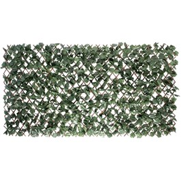 """36"""" x 72"""" Willow Trellis, with Artificial Ivy Leaves"""